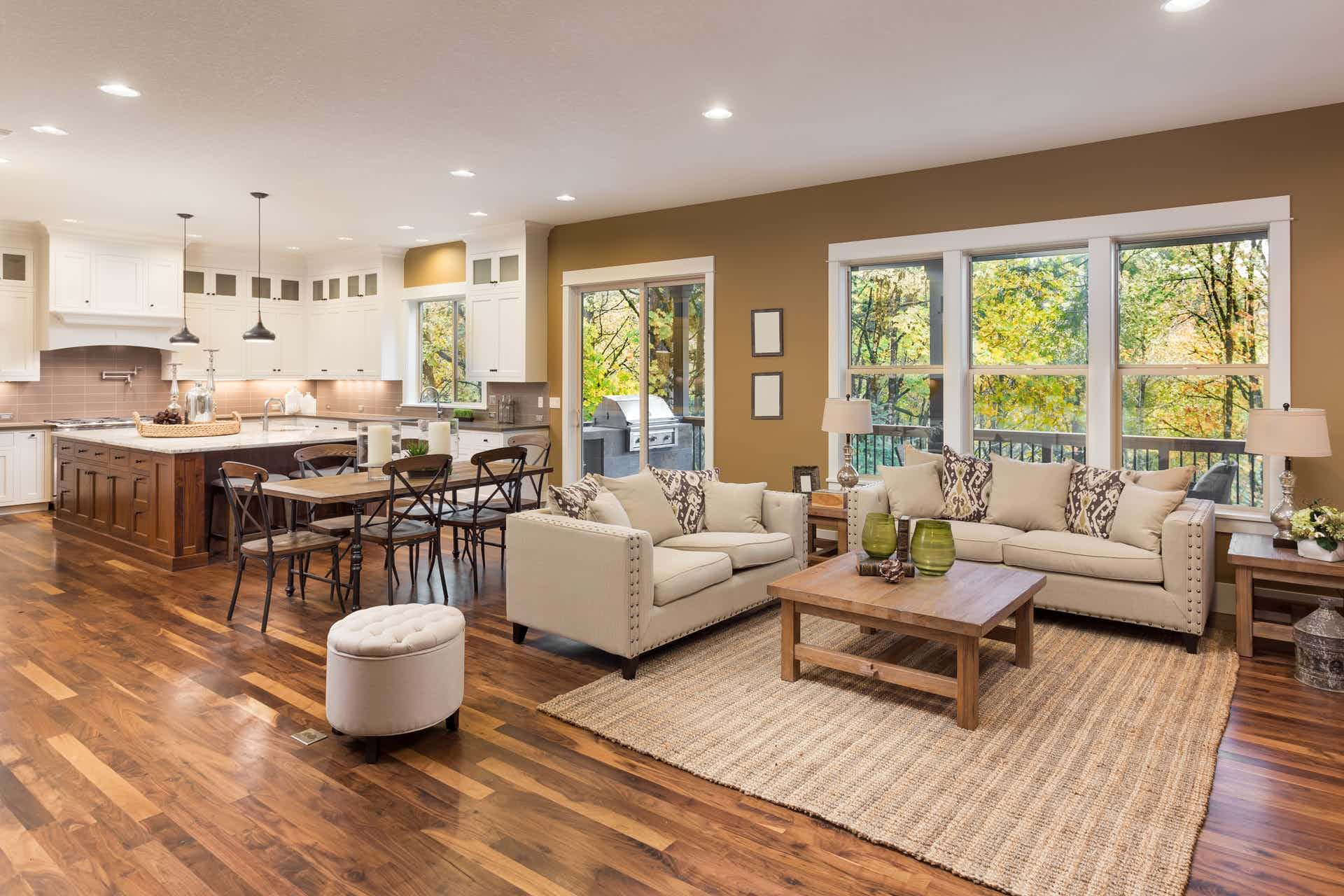 how much do hardwood floors increase home value