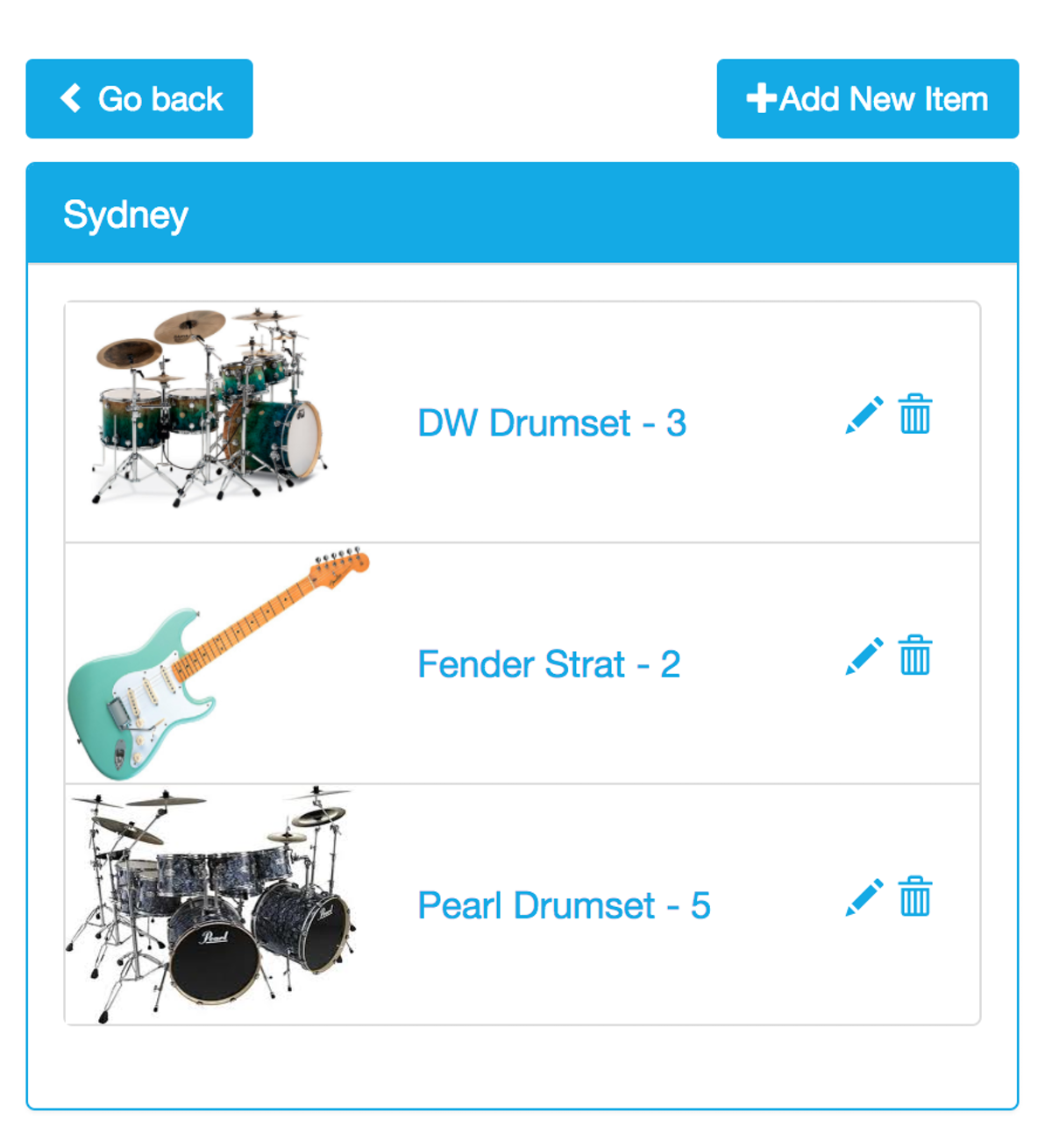 Inventory App | Cosmic JS Apps