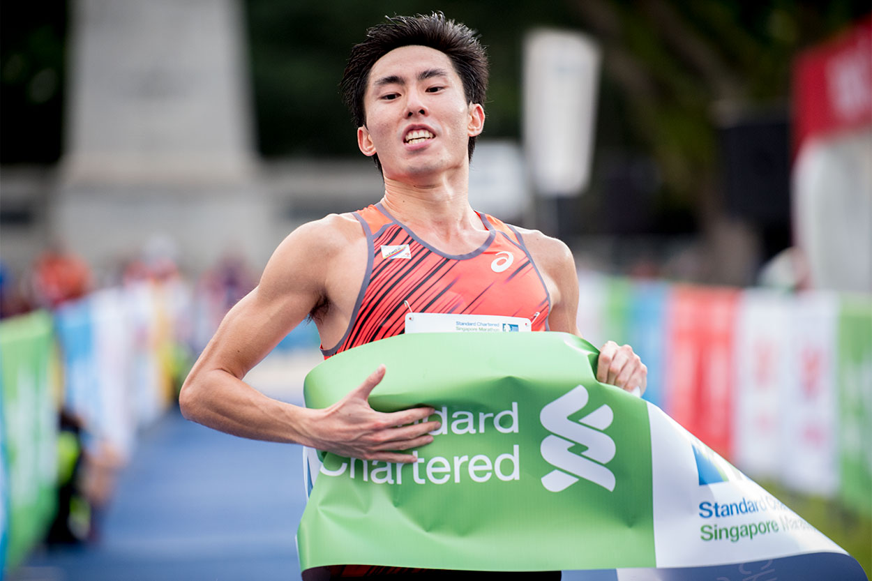 Soh Rui Yong and Rachel see crowned national champions at Standard Chartered Singapore Marathon