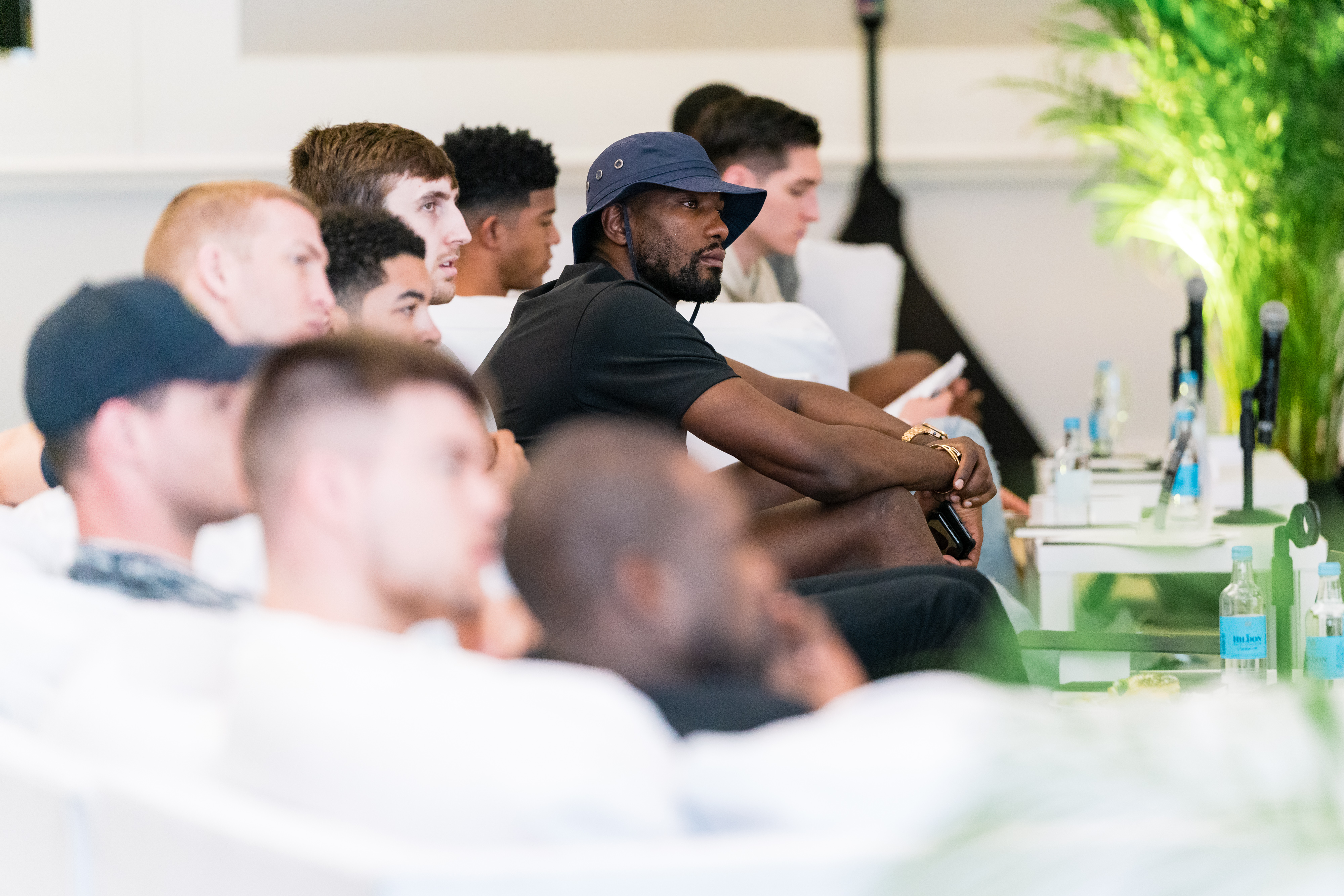 CBA Image Gallery - Player Meeting