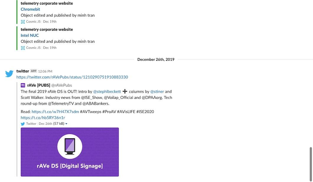 Slack for Digital Signage carousel 1