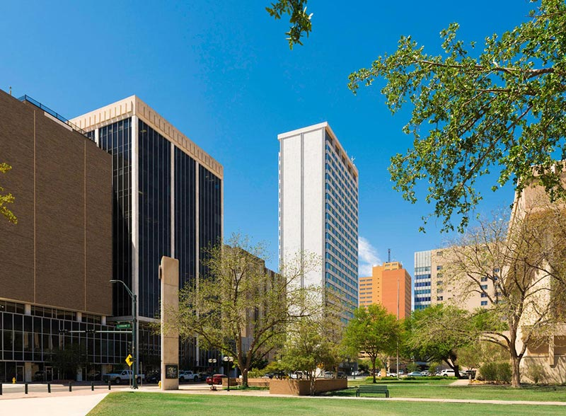 Office buildings in Midland Texas