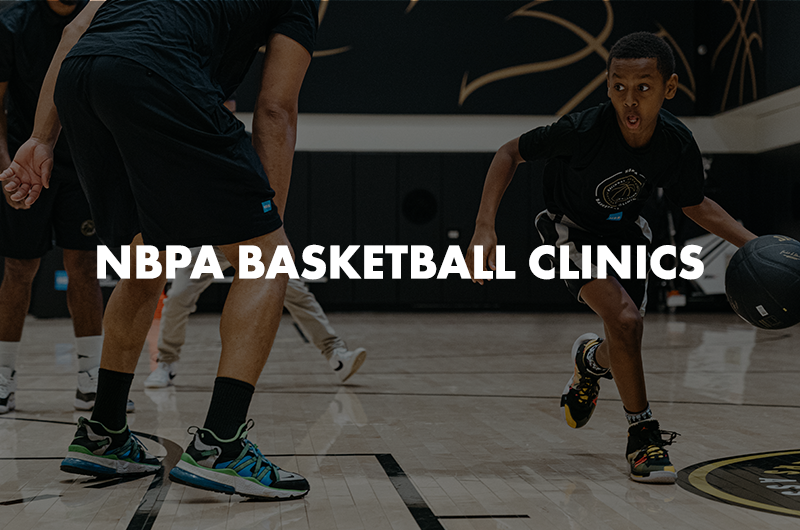 NBPA Basketball Clinics