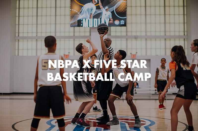 NBPA X FIVE STAR BASKETBALL CAMP