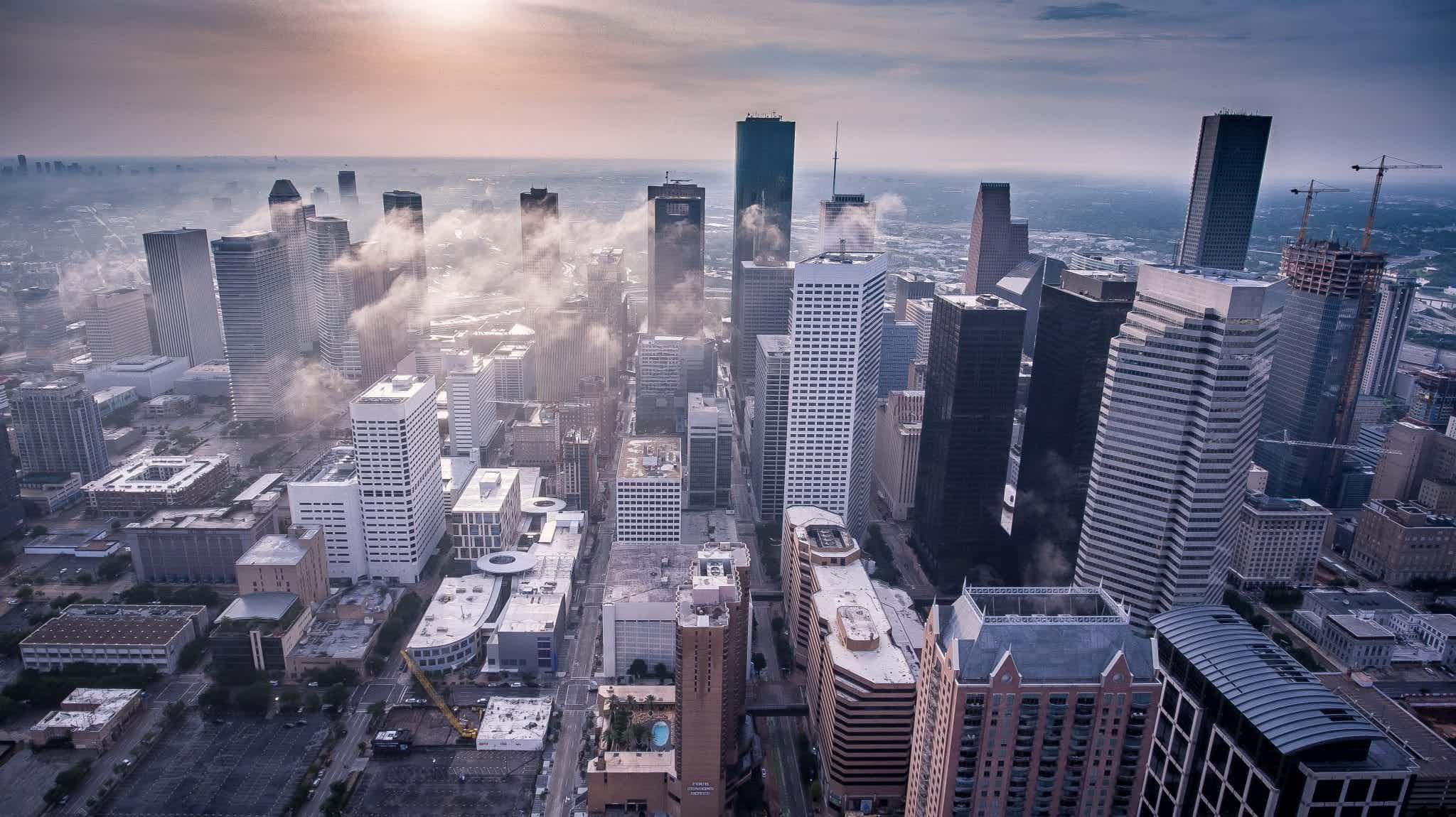 finding investment property houston