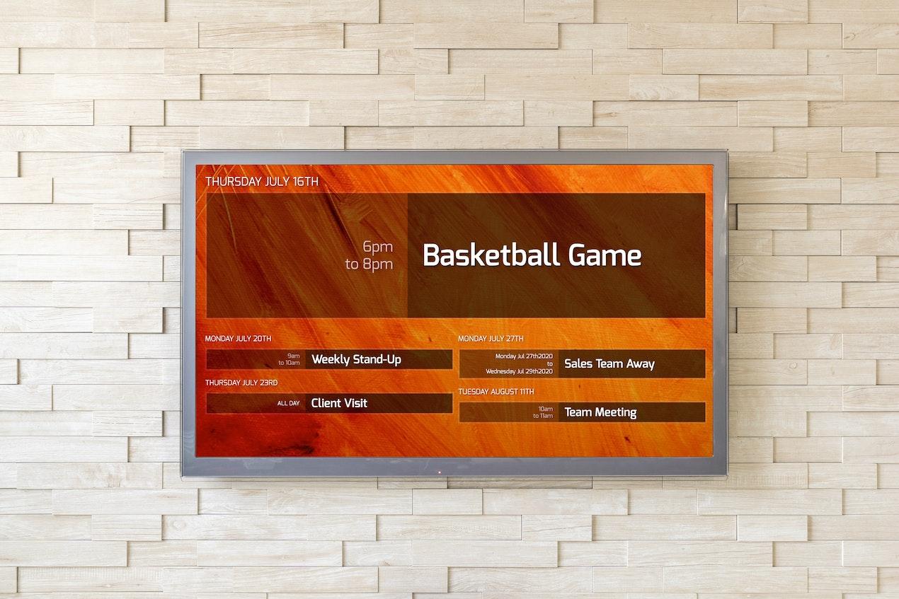 Events - Digital Signage App image