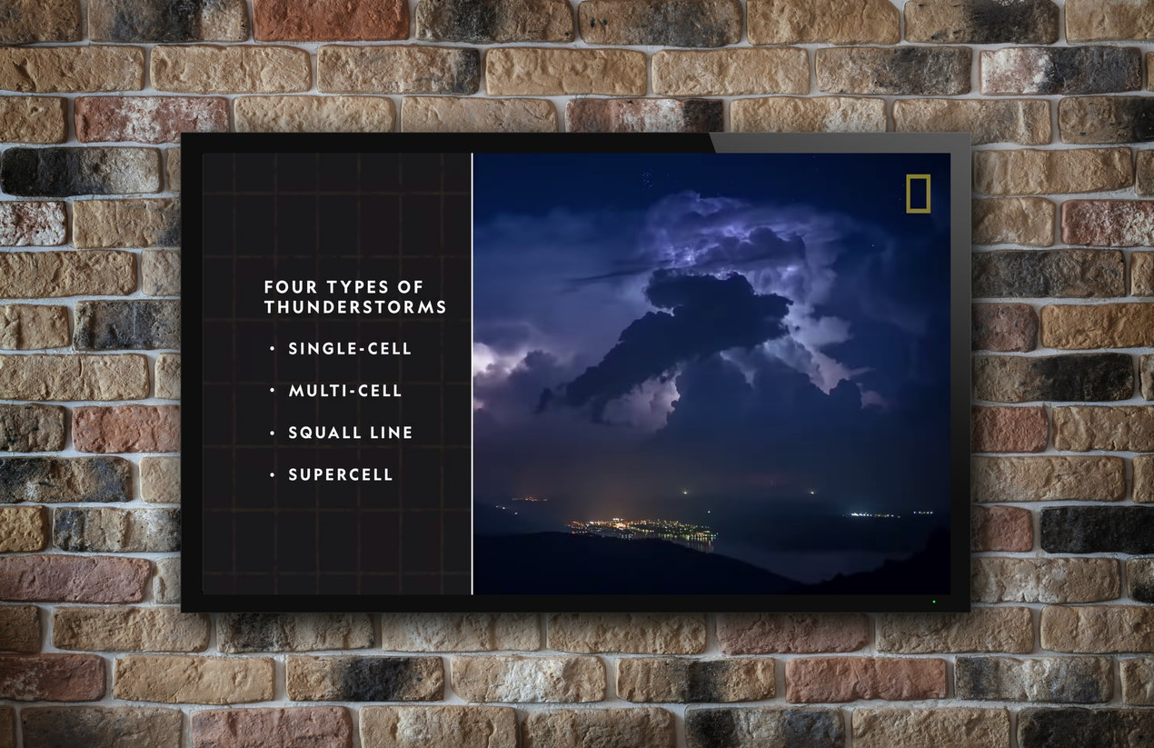 National Geographic YouTube Channel for Digital Signage image
