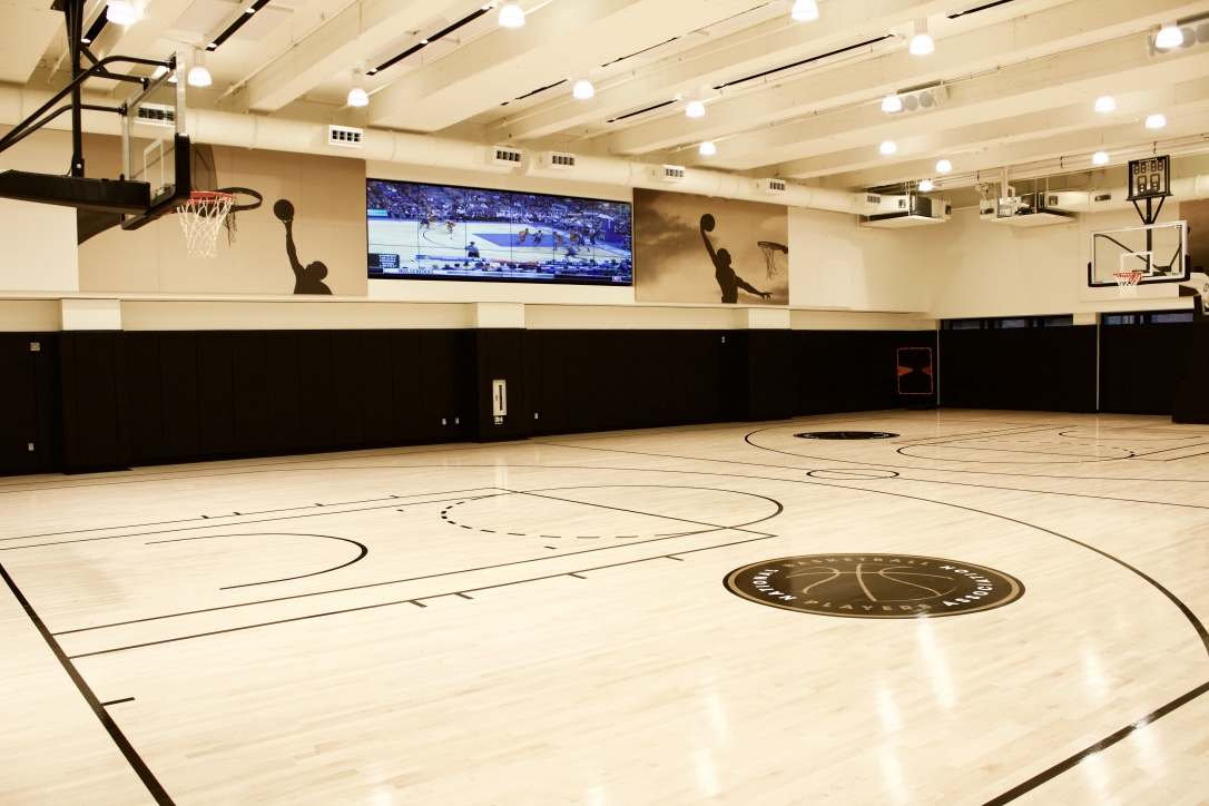 NBPA Basketball Court