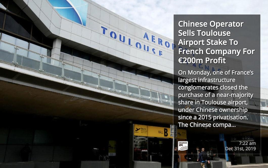 France 24 News RSS for Digital Signage carousel 1