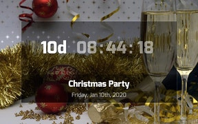 Countdown App for Digital Signage carousel 1