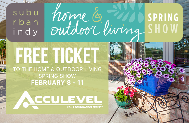 free ticket to home and outdoor living spring show