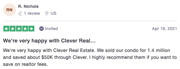 clever real estate luxury home seller review
