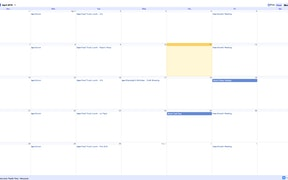 Google Calendar App for Digital Signage image carousel
