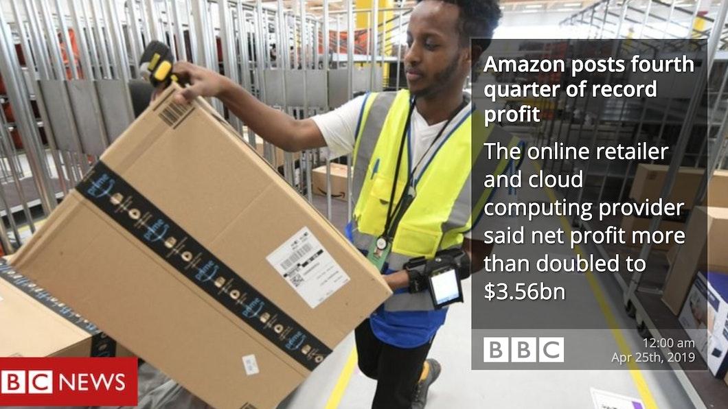 BBC RSS - Digital Signage App carousel 1