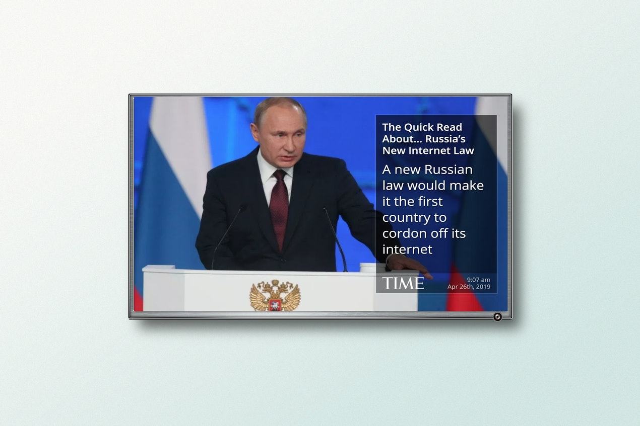 Times RSS - Digital Signage App image