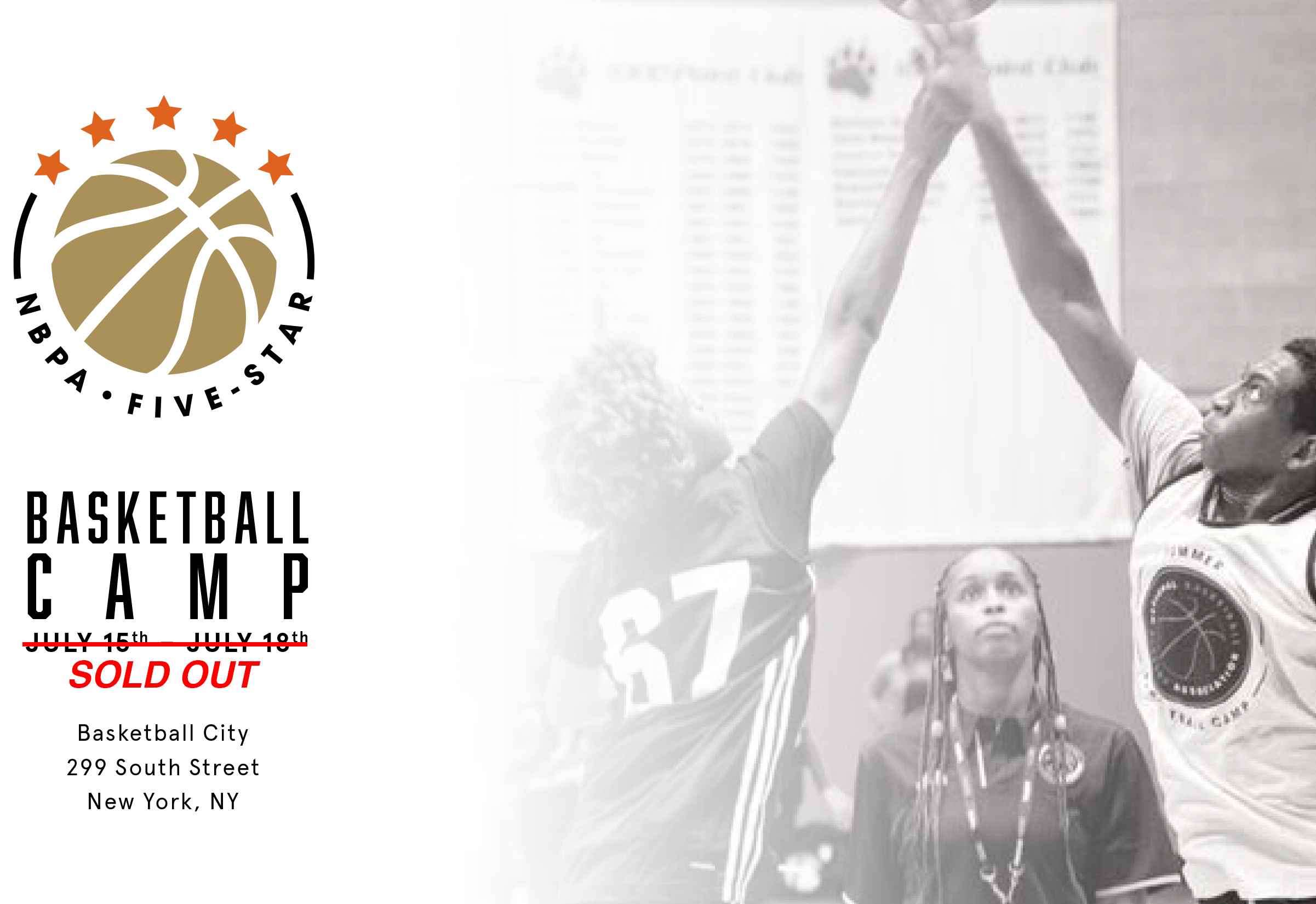 NBPA Five Star Camp Banner