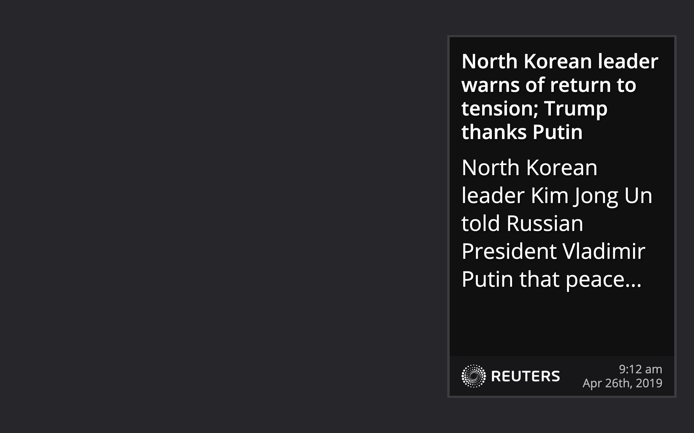 Reuters RSS