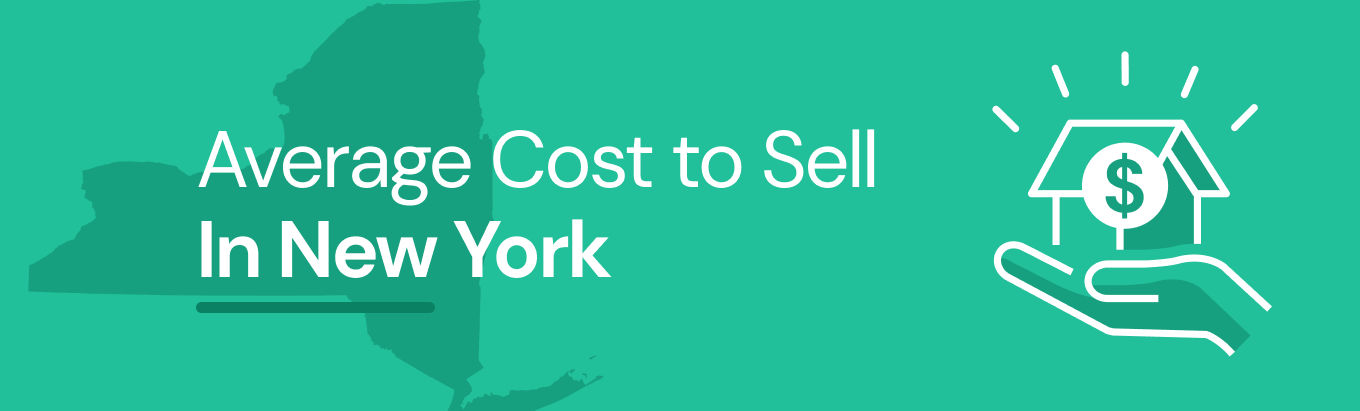Find out the average cost of selling a house in New York