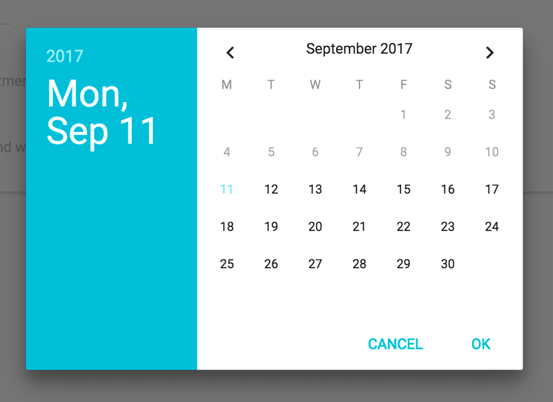Appointment Scheduler | Cosmic JS Apps