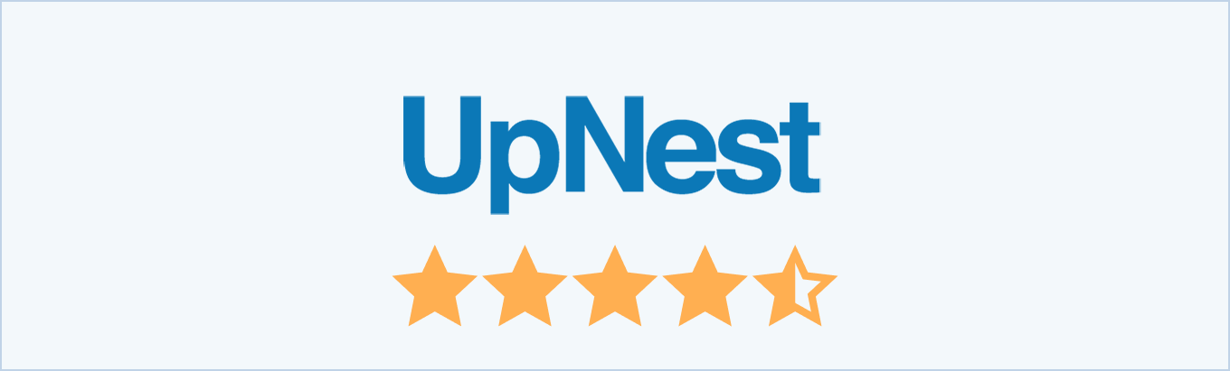 UpNest reviews from customers and real estate agents