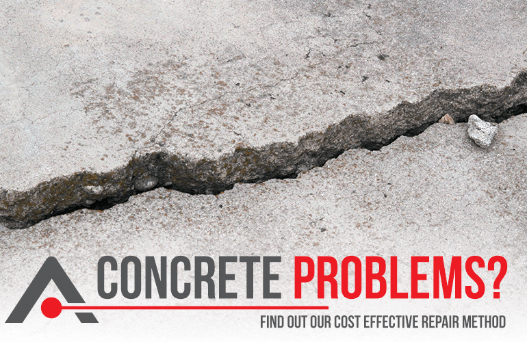 Acculevel 3-Step process is a cost-effective alternative to replacing concrete