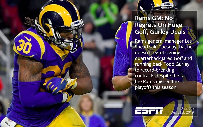 ESPN RSS for Digital Signage image carousel