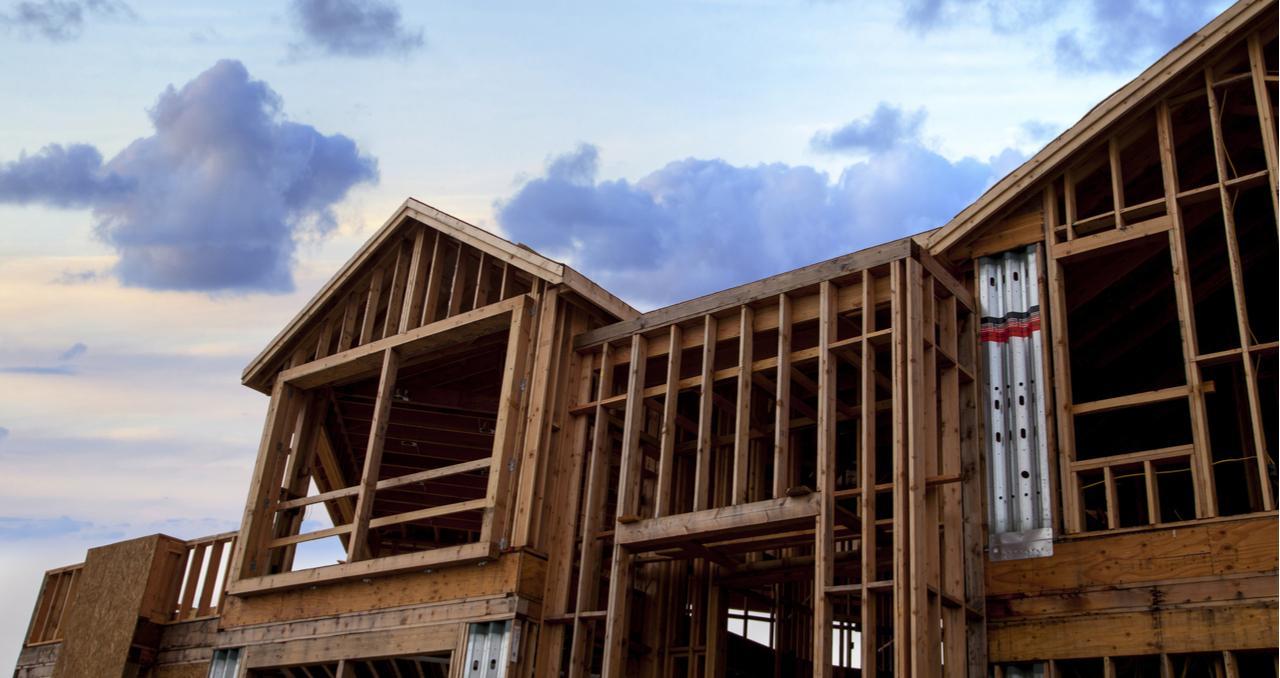wood frame home