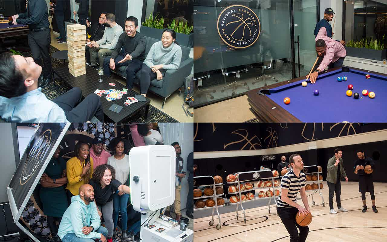 The NBPA hosted an exclusive Venue Showcase for over 100 business prospects and clients to preview the redesign of the space.