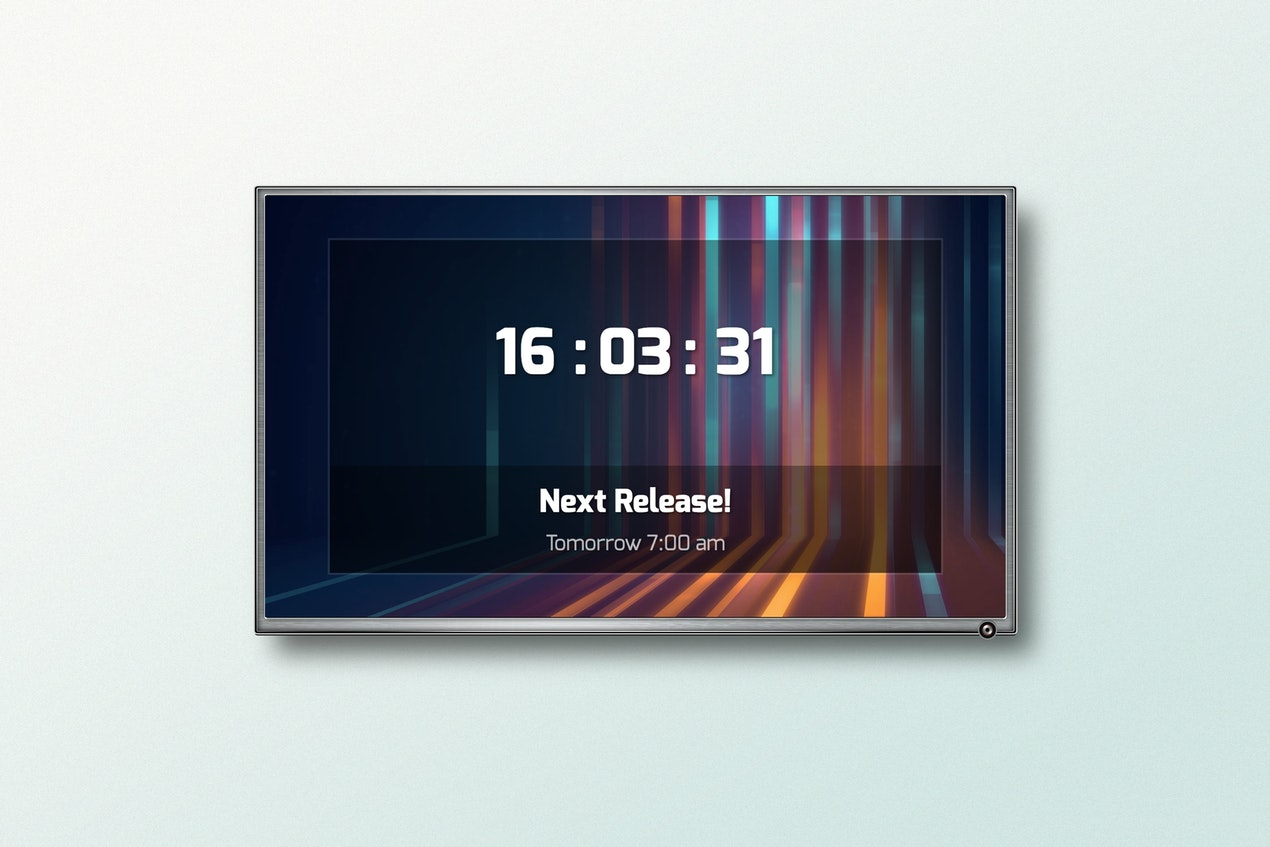 Countdown - Digital Signage App image