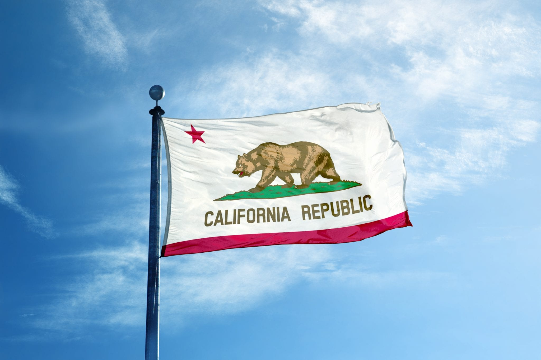 California flag - statewide buyer and seller advisory