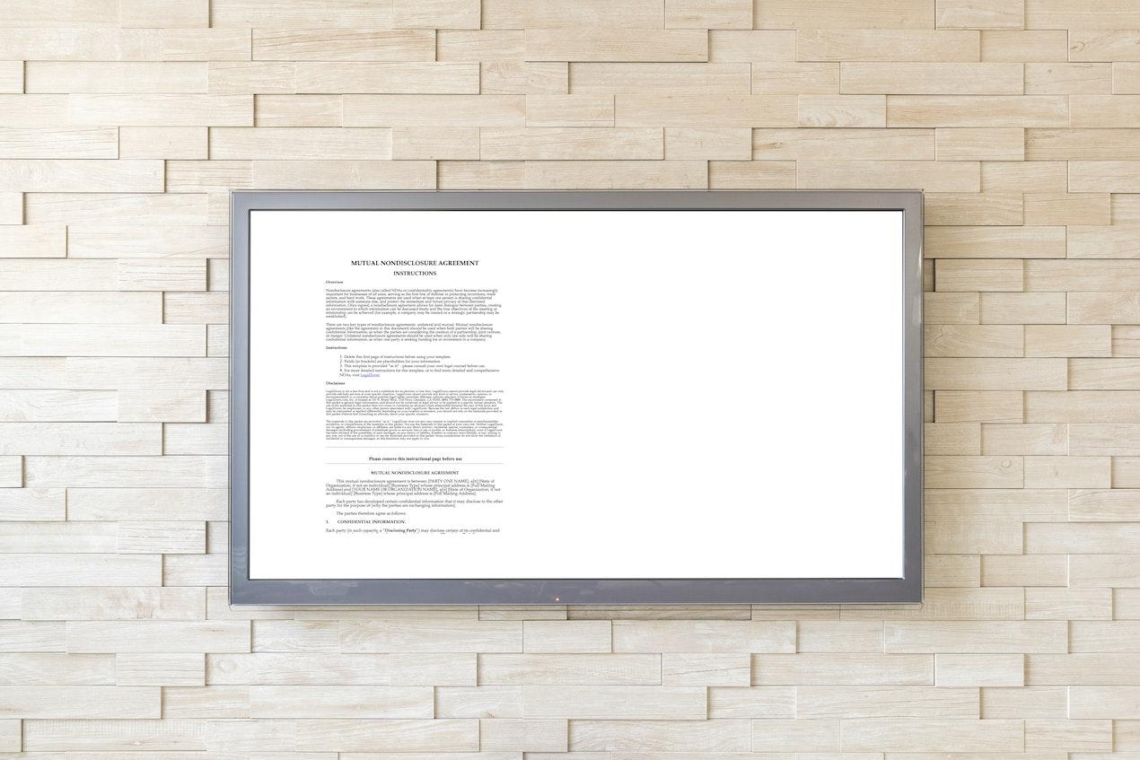 Google Docs for Digital Signage image
