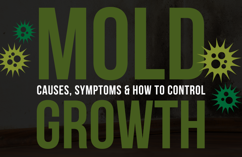 mold growth in your home
