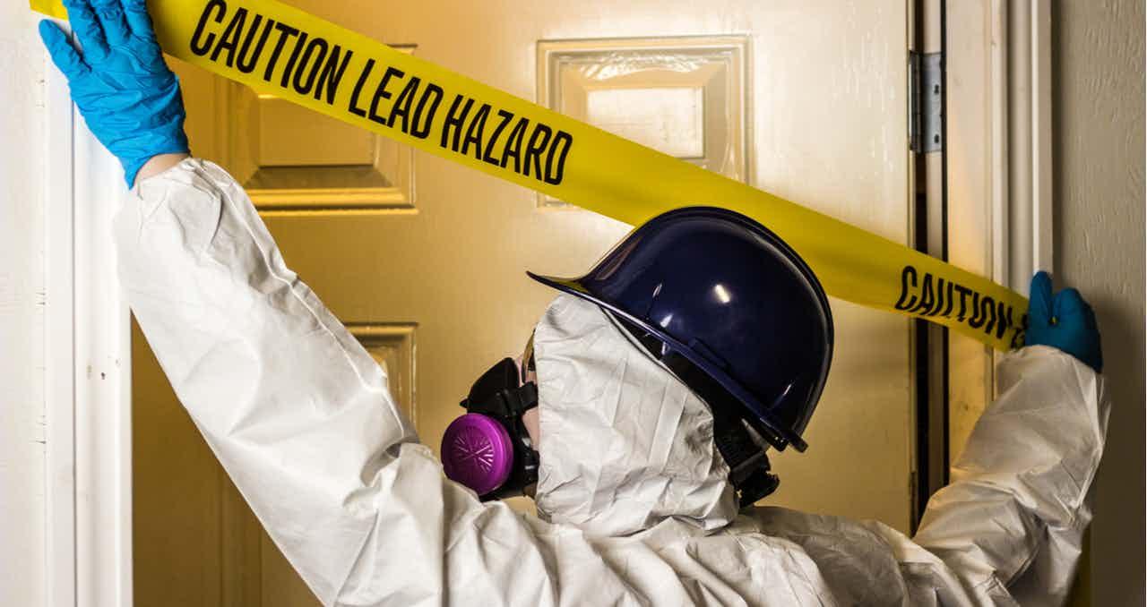 lead paint house