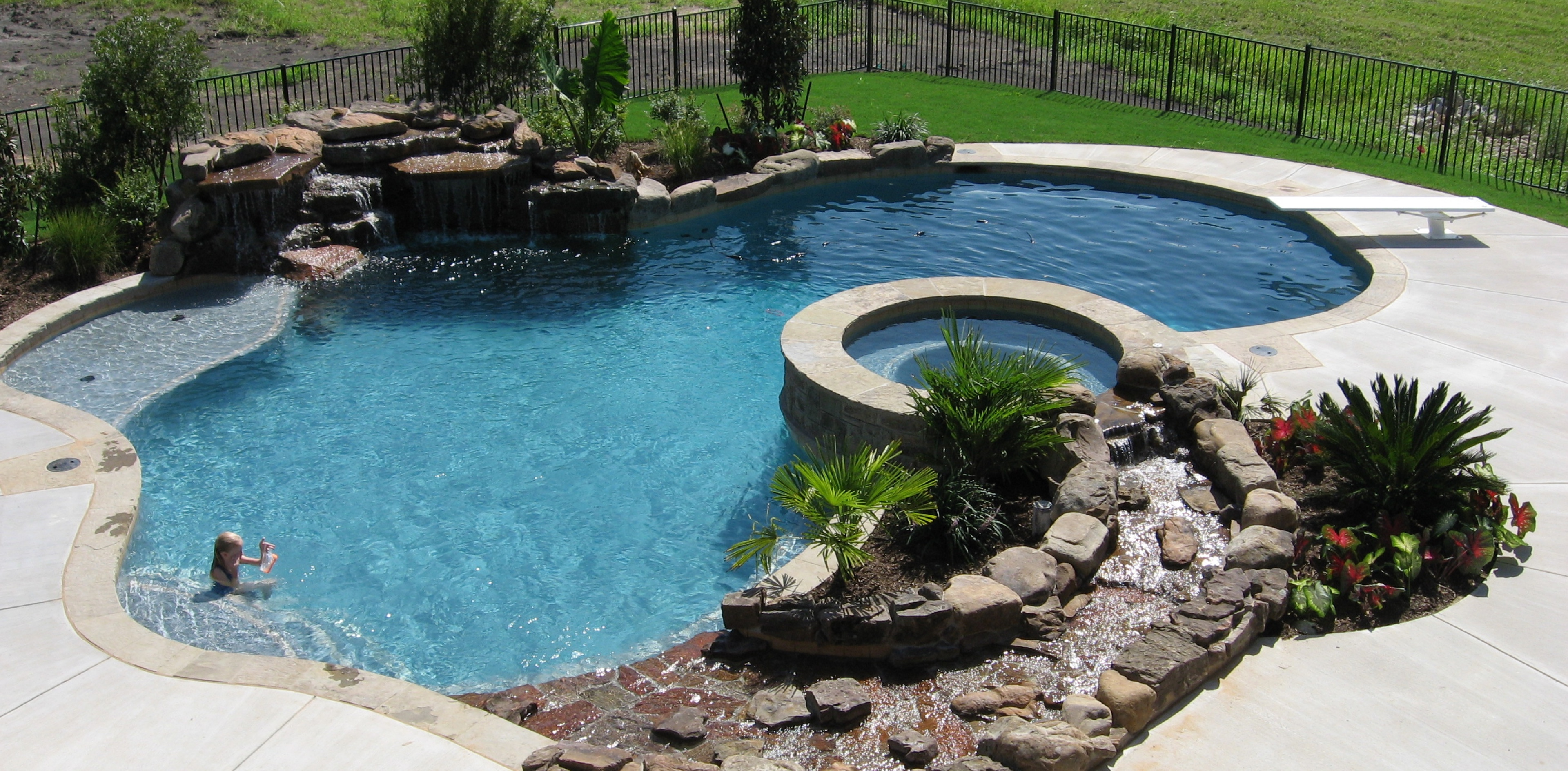 Perhaps A Free Form Pool Fits Your Backyard Style Best! Whatever Your Ideal  Water Oasis Is, Overly Custom Pools Can Deliver The Relaxing Pool That Your  ...