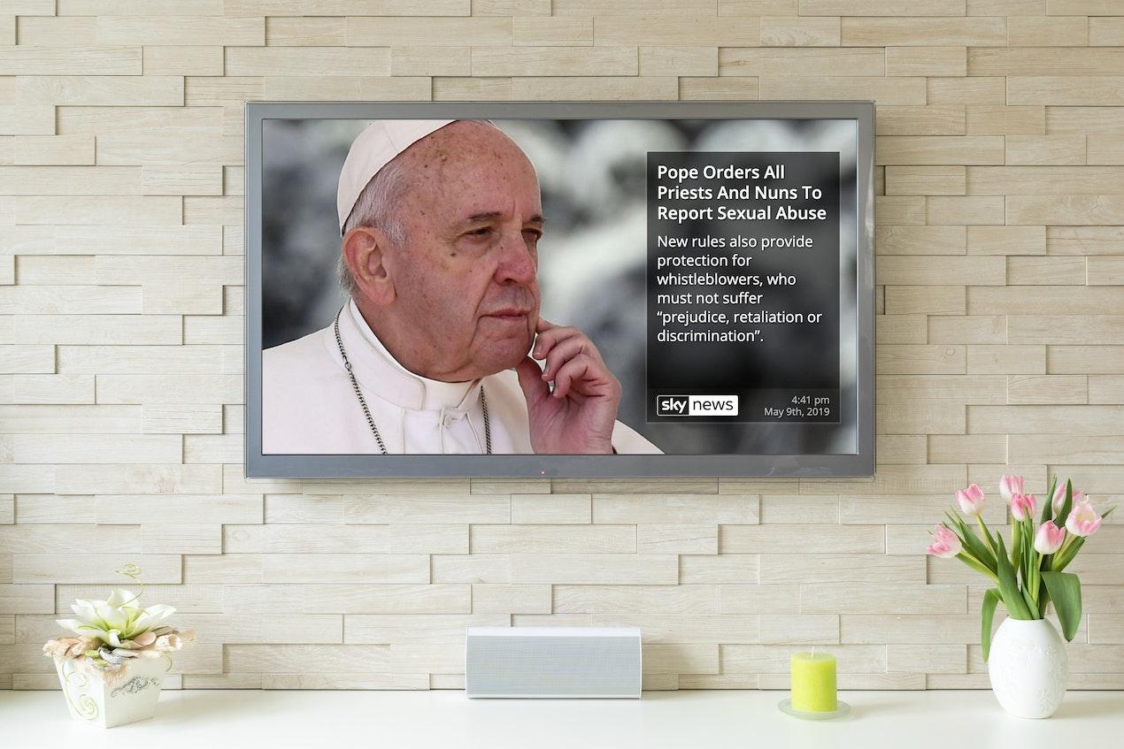 Sky News RSS for Digital Signage image