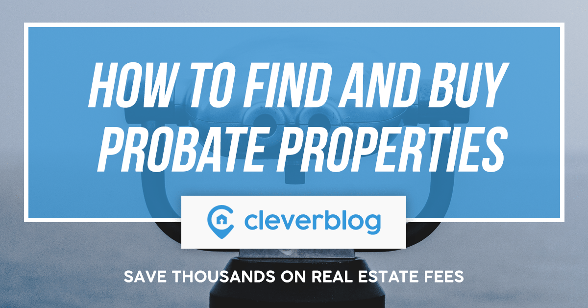 how to find and buy probate property
