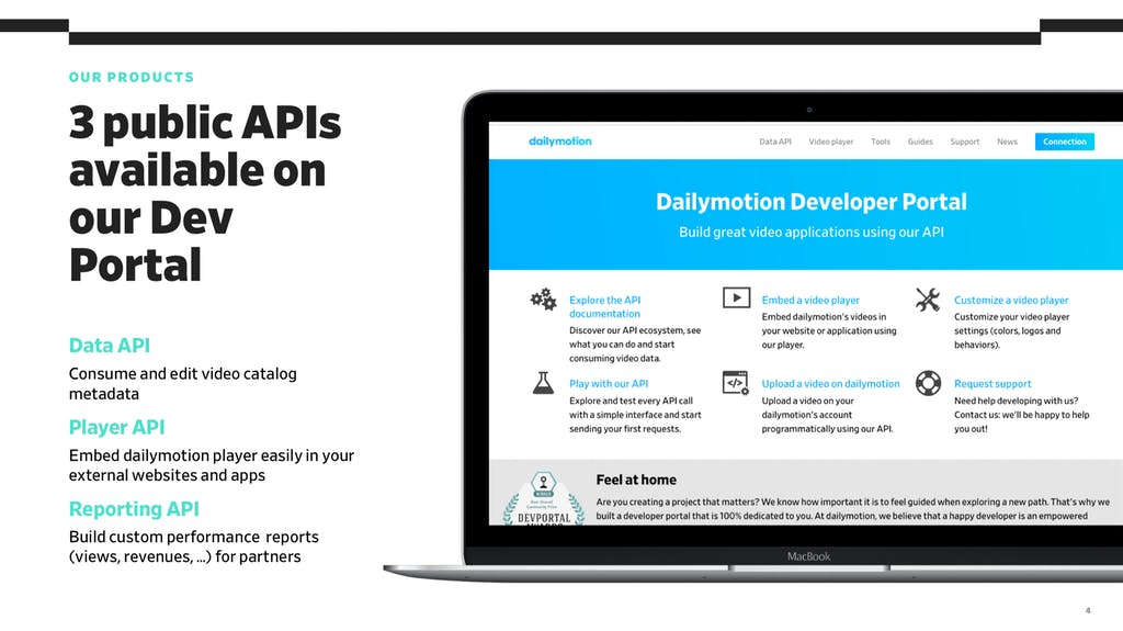 API Days 2018 dailymotion 2