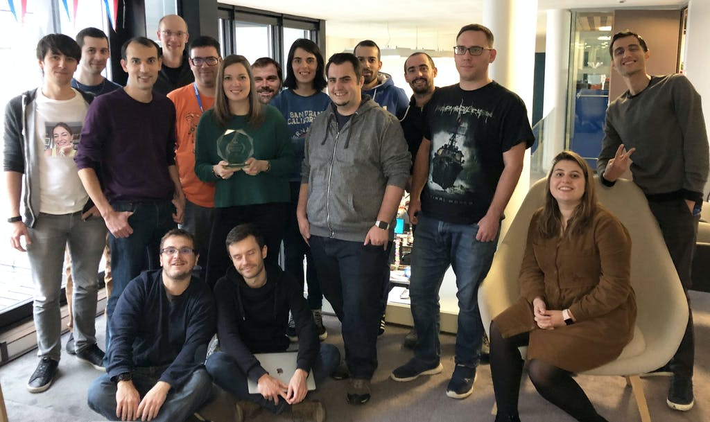 dailymotion team scale award best dev portal