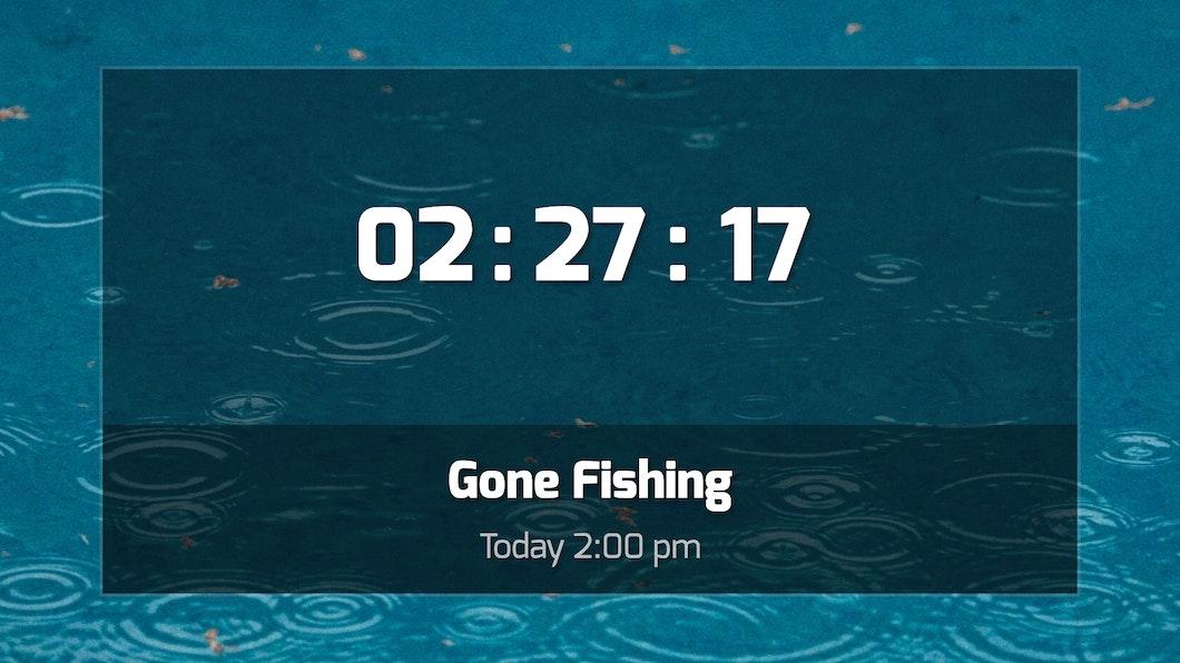 Countdown - Digital Signage App carousel 2