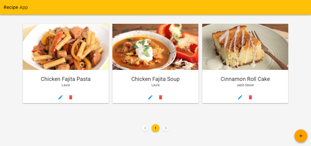 How to build a recipe app using vuejs and vuex cosmic js in this tutorial im going to show you how to create an elegant recipe app using vue2 vuex vuetify and cosmic js for the sake of understanding how to forumfinder Images