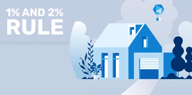 1 percent and 2 percent rule real estate