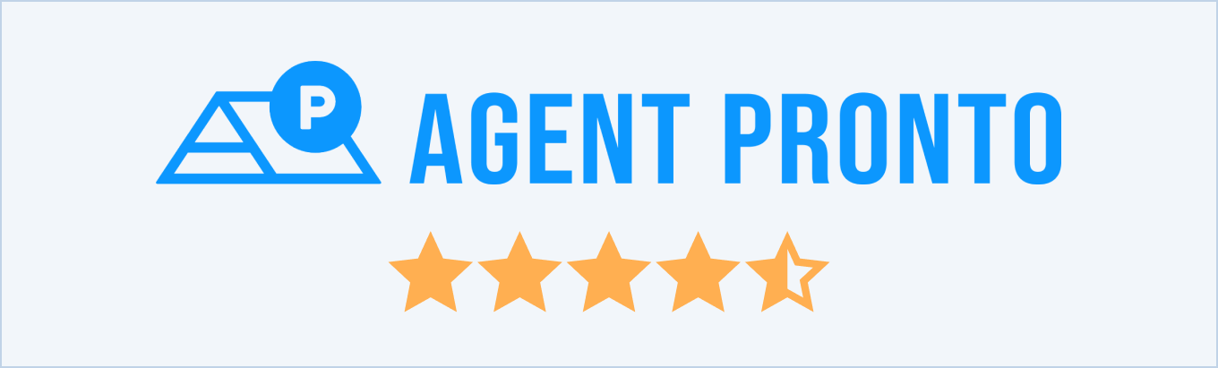 Agent Pronto reviews from customers and real estate agents